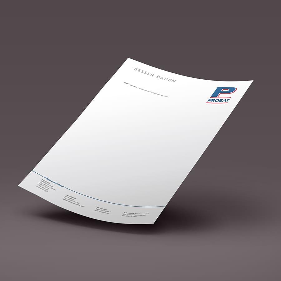 Briefpapier Probat