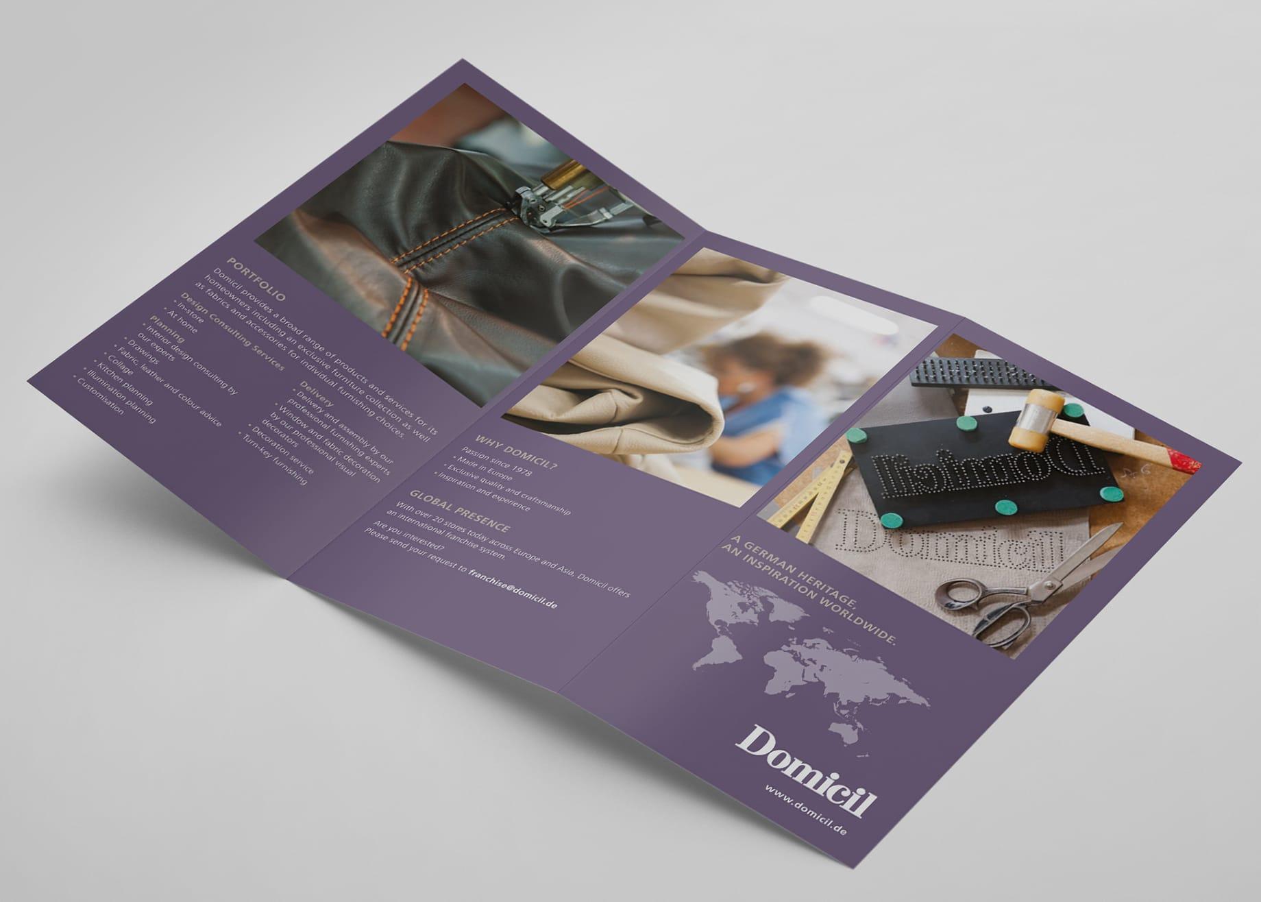 Flyer Domicil