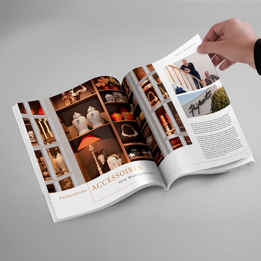 Magazin Innenseite Domicil