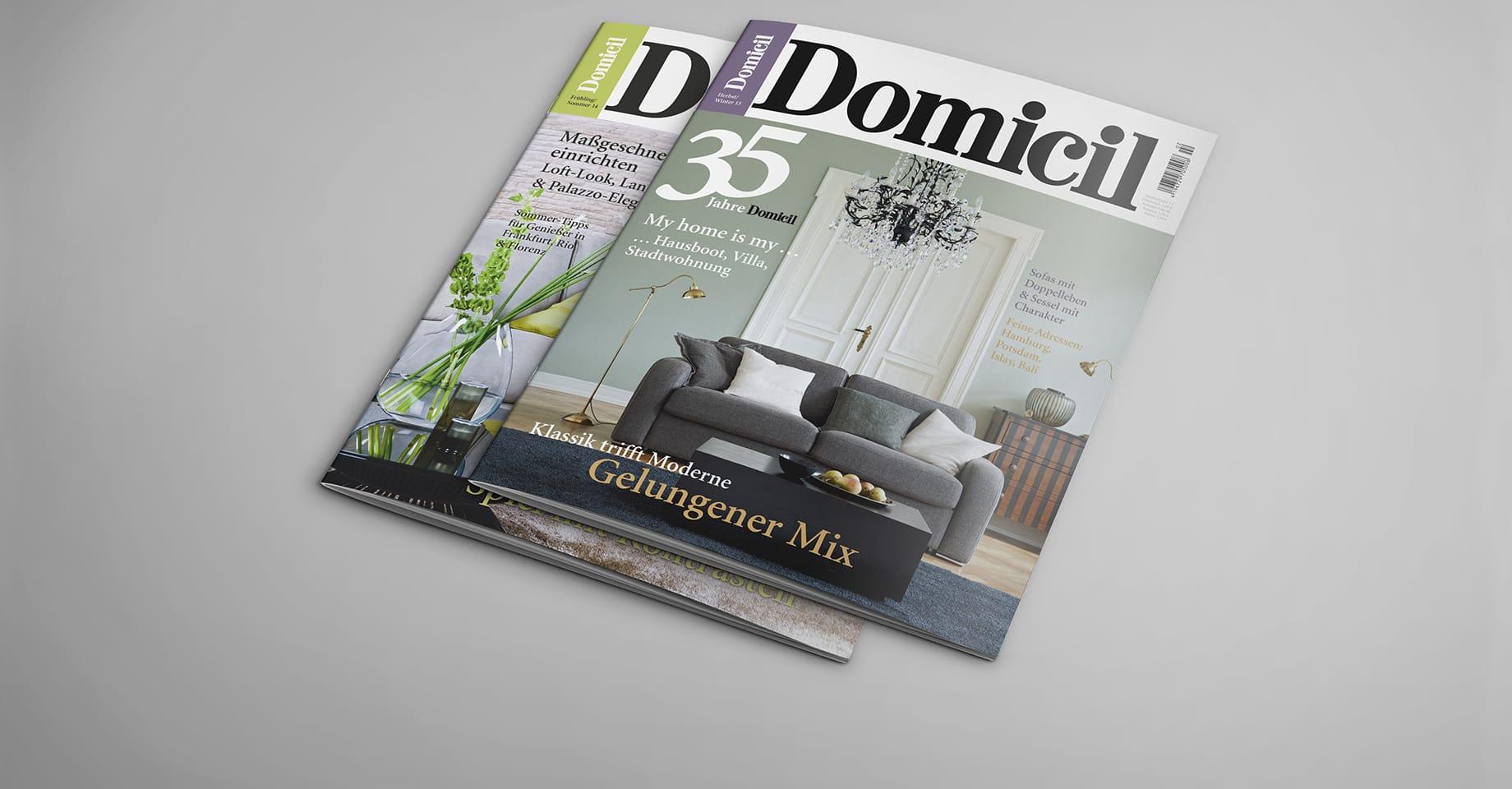 2 Domicil Magazine Cover