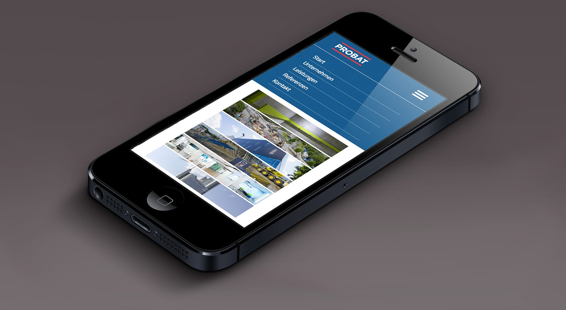 mobile Website Probat