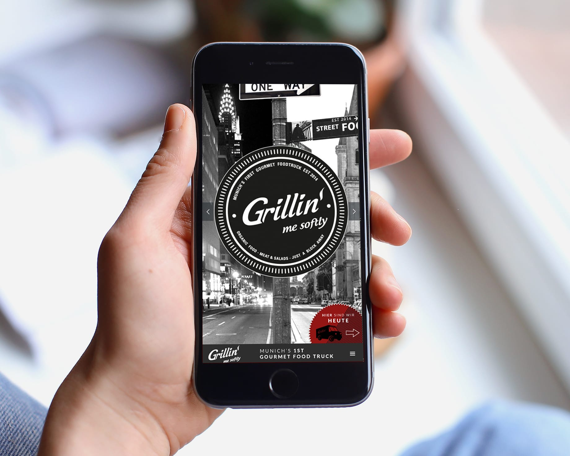mobile Website Grillin