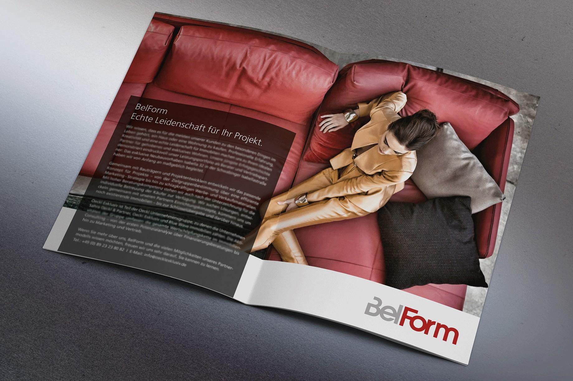 Magazine Innen Belform