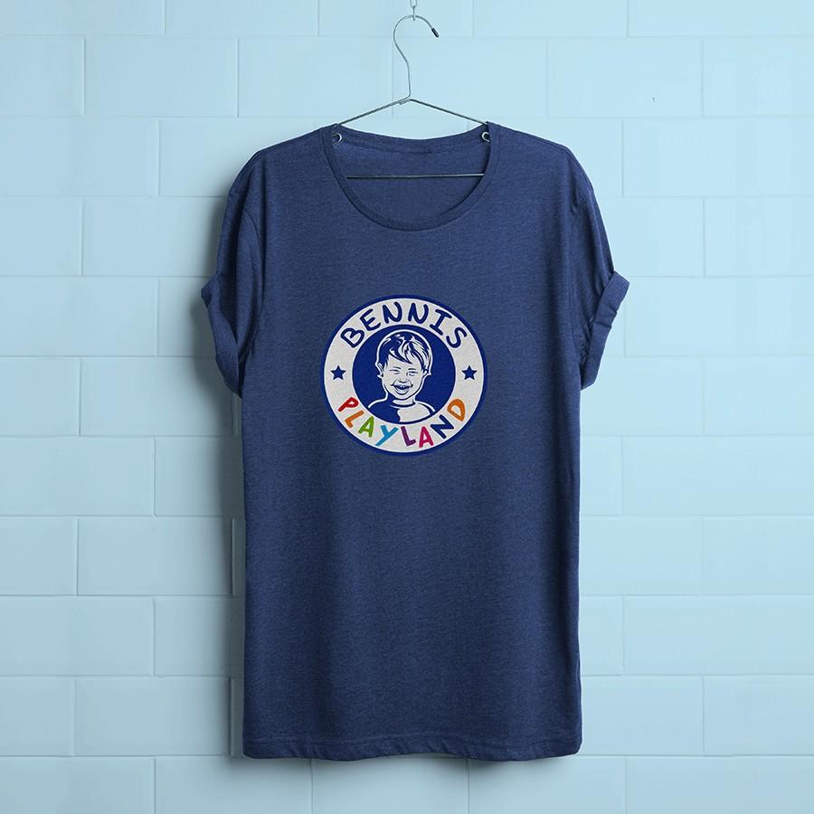 T-shirt mit Logo Bennis Playland