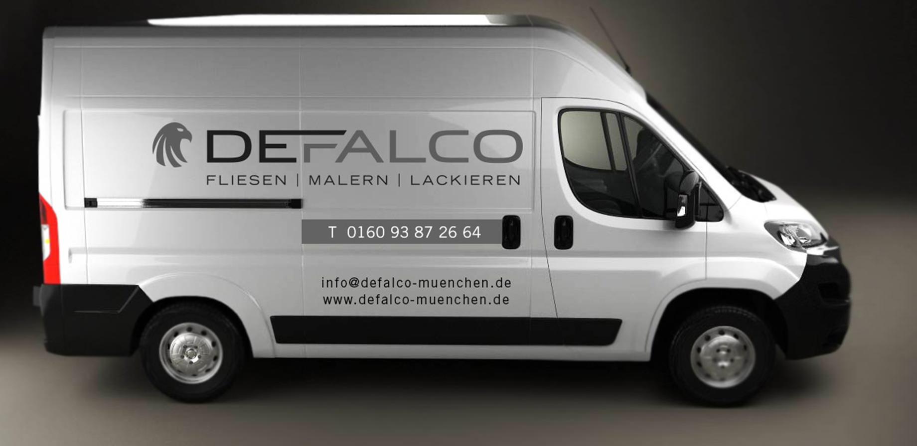 Autobeschriftung Defalco