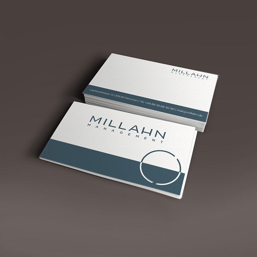 Visitenkarten Millahn