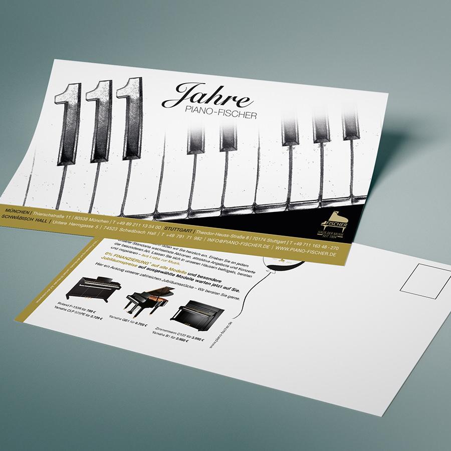 111 Jahre Flyer Piano Fischer