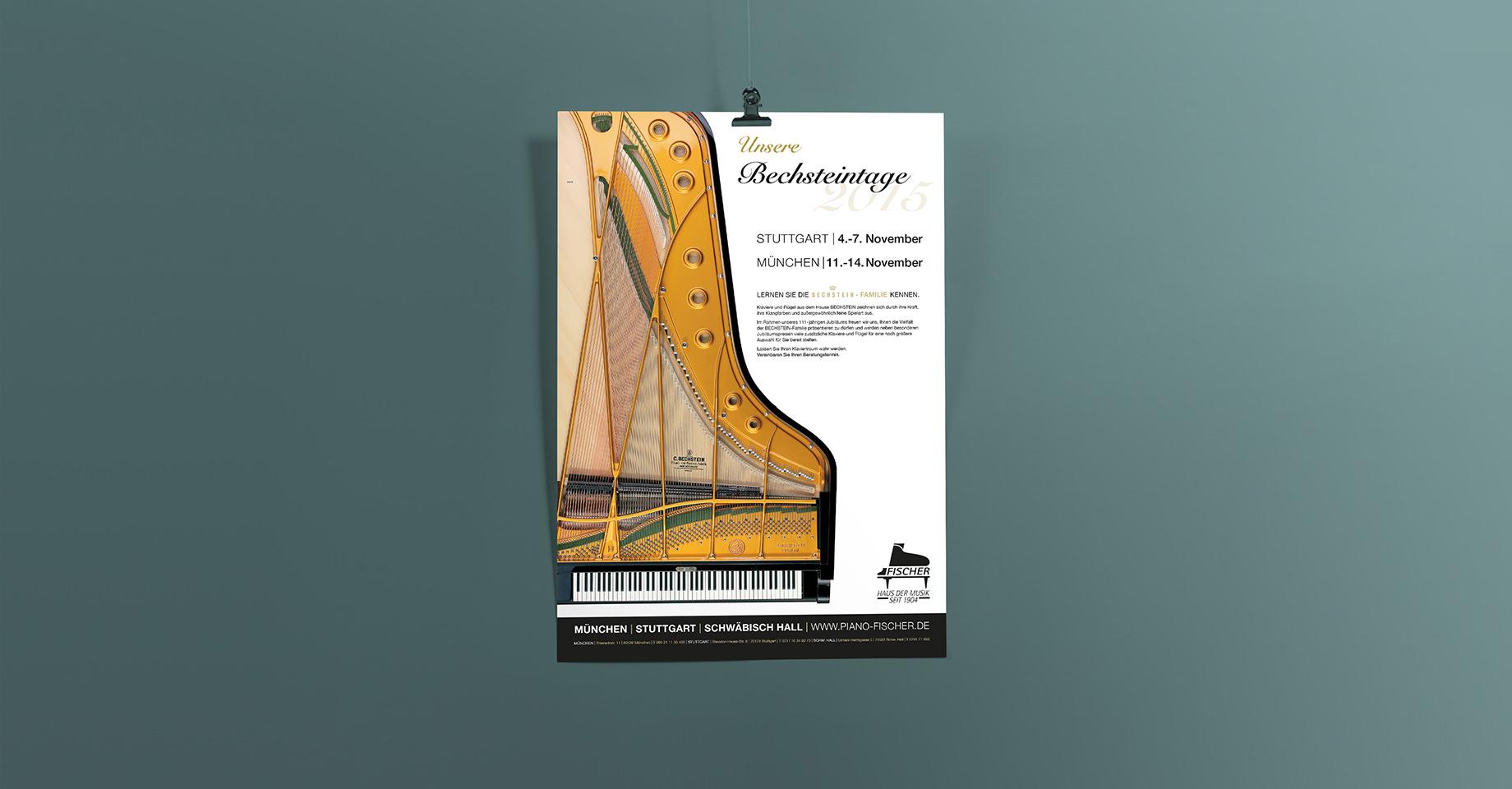 Bechsteintage Plakta Piano Fischer