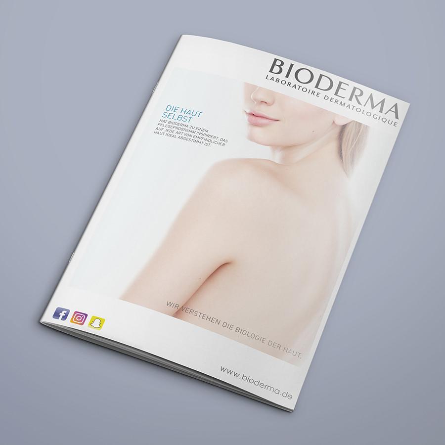 Broschüre Cover Bioderma
