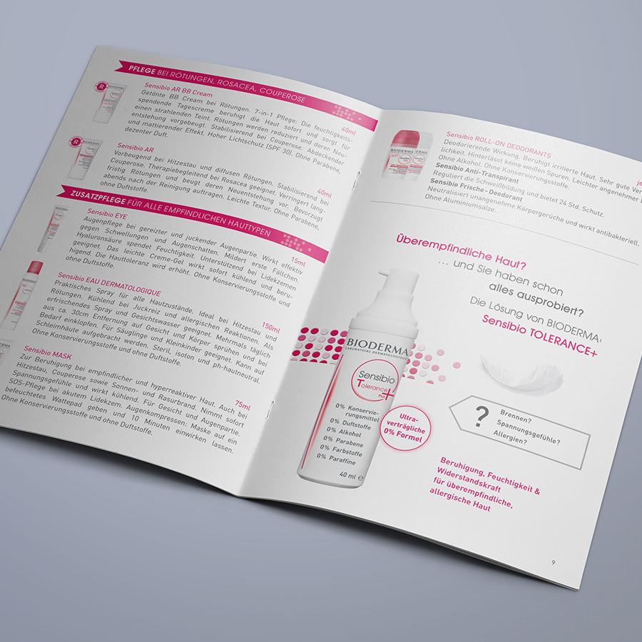 Broschüre Innenseite Bioderma