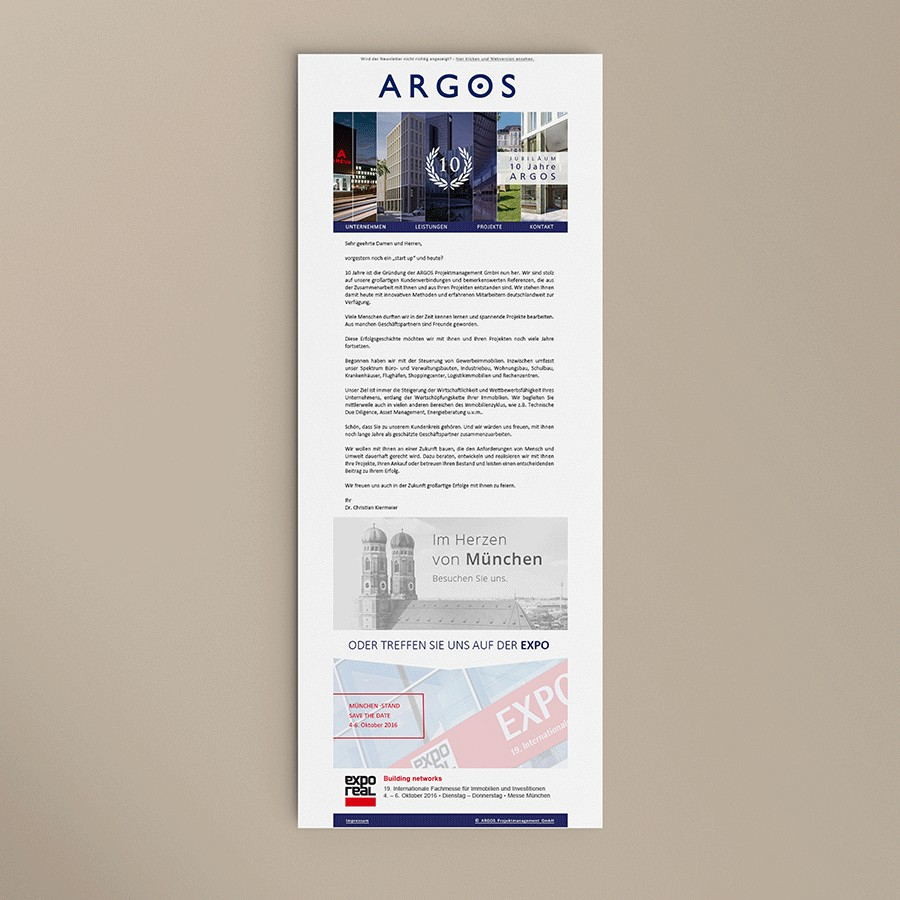 Newsletter Argos