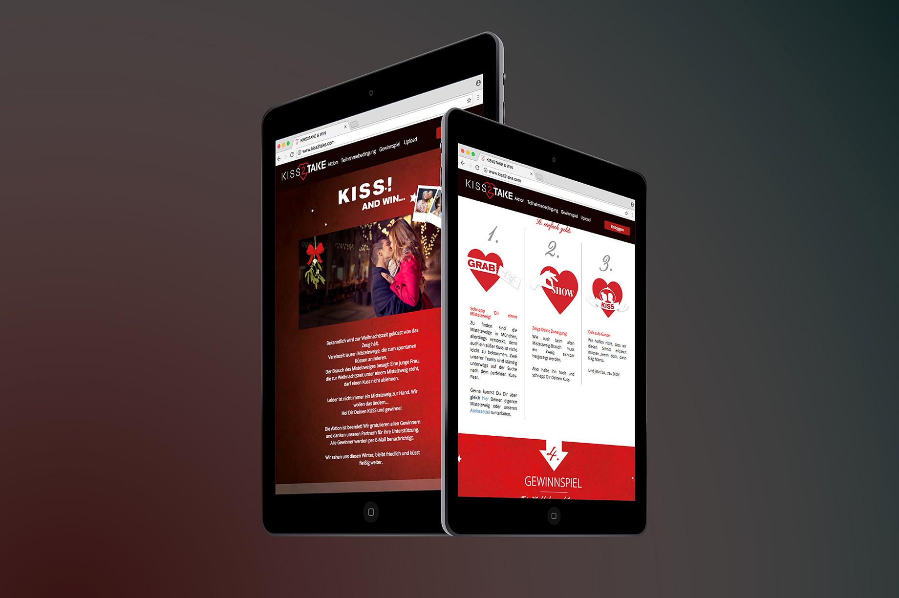 Tablet Website Kiss 2 Take