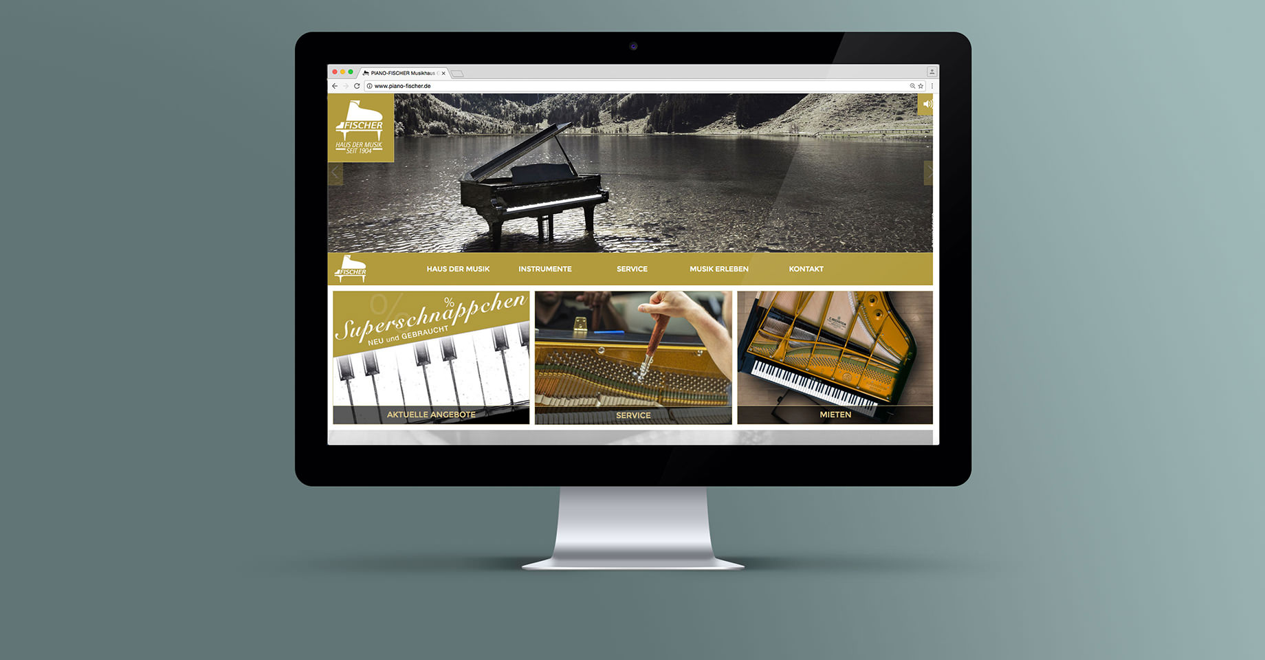 Website Piano Fischer