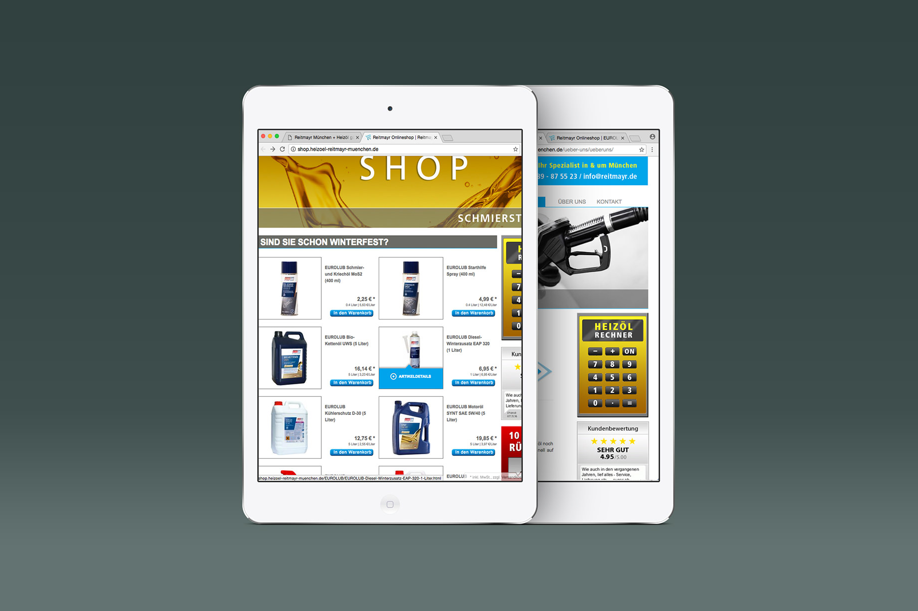 Tablet Website Reitmayr