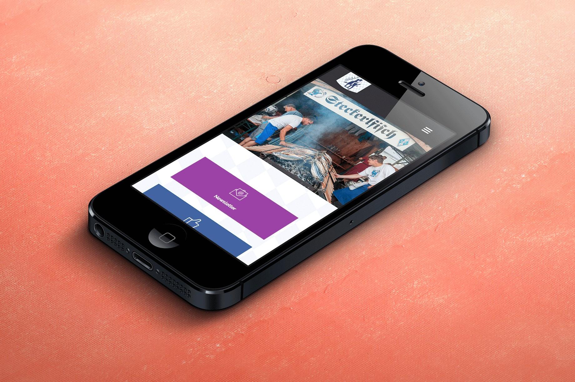 mobile Website Waldfeste