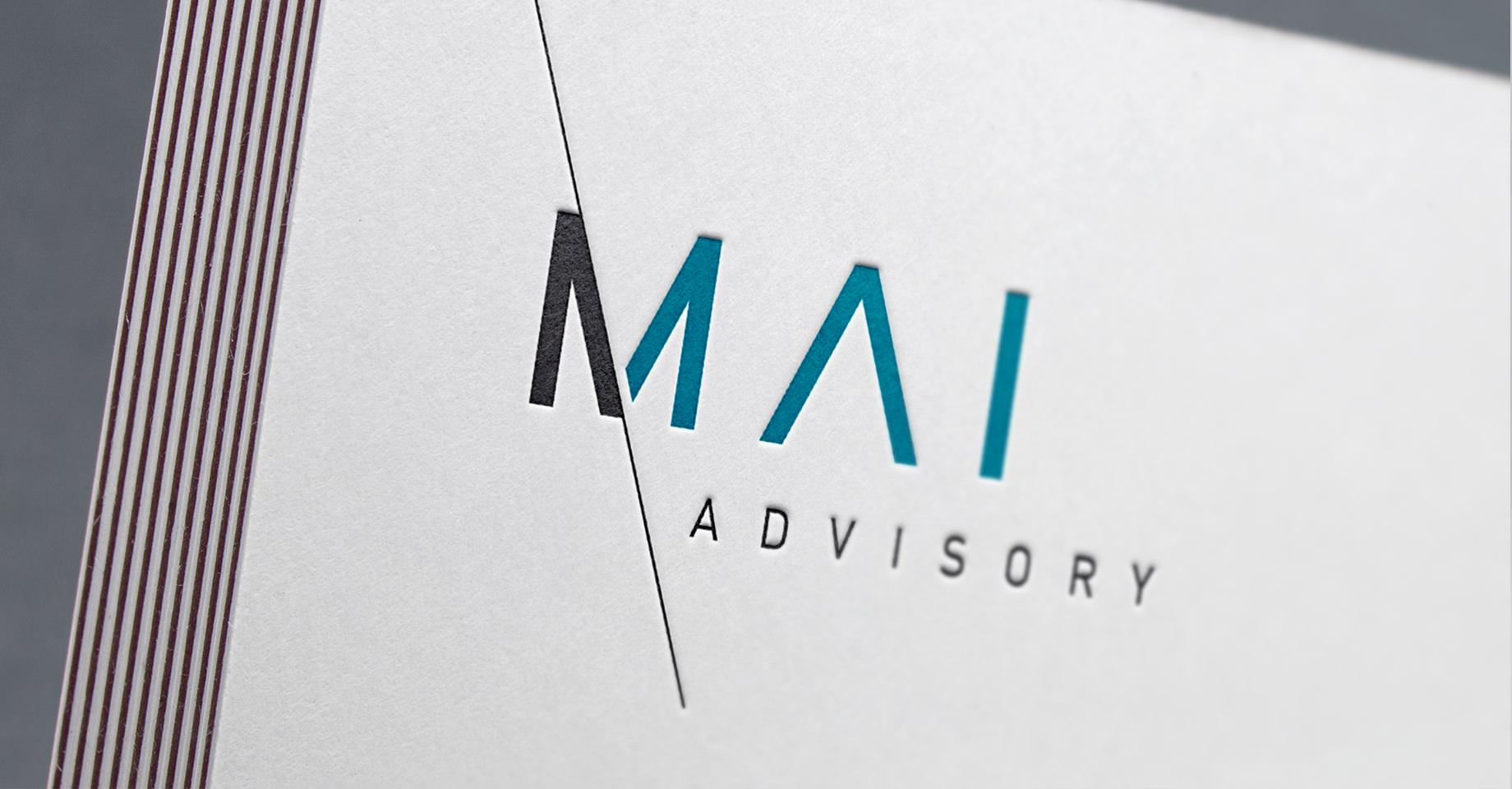 Corporate Design Für Mmai Advisory Wh4 Design Werbeagentur
